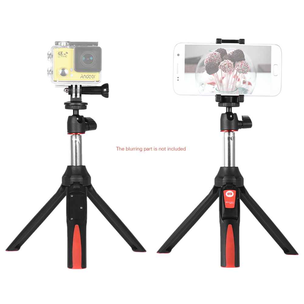 red benro mk10 handheld extendable mini tripod selfie stick with bluetooth re. Black Bedroom Furniture Sets. Home Design Ideas