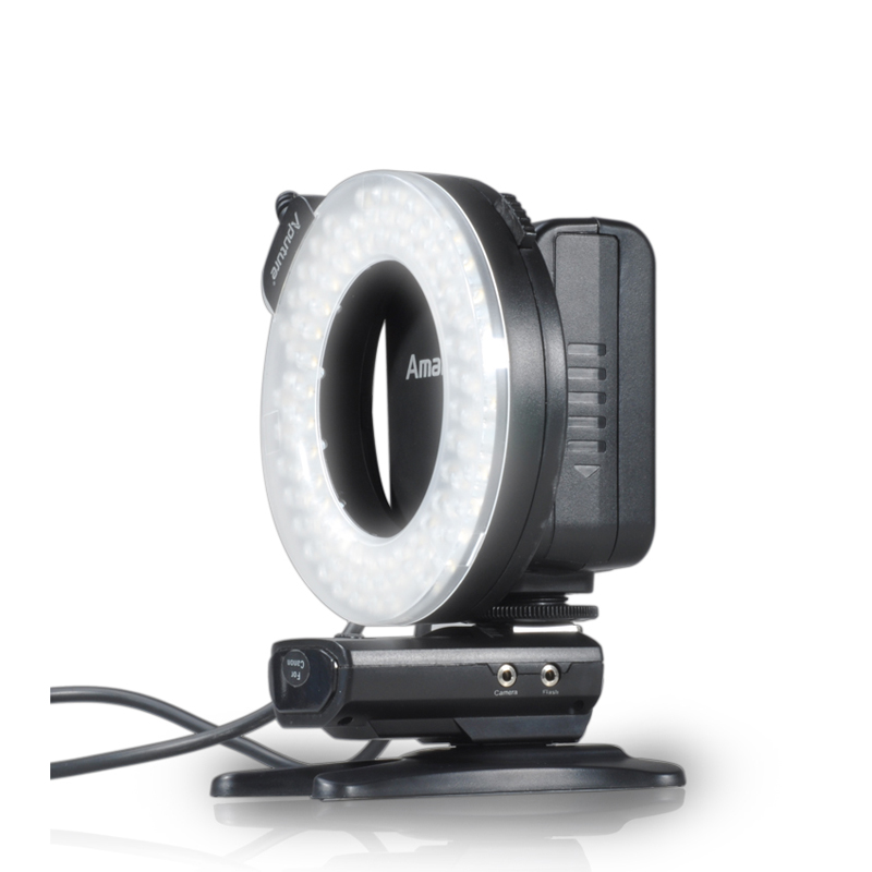 Get Extra 20% Off Aputure Amaran Halo HN100 CRI 95+ LED Ring Flash Light