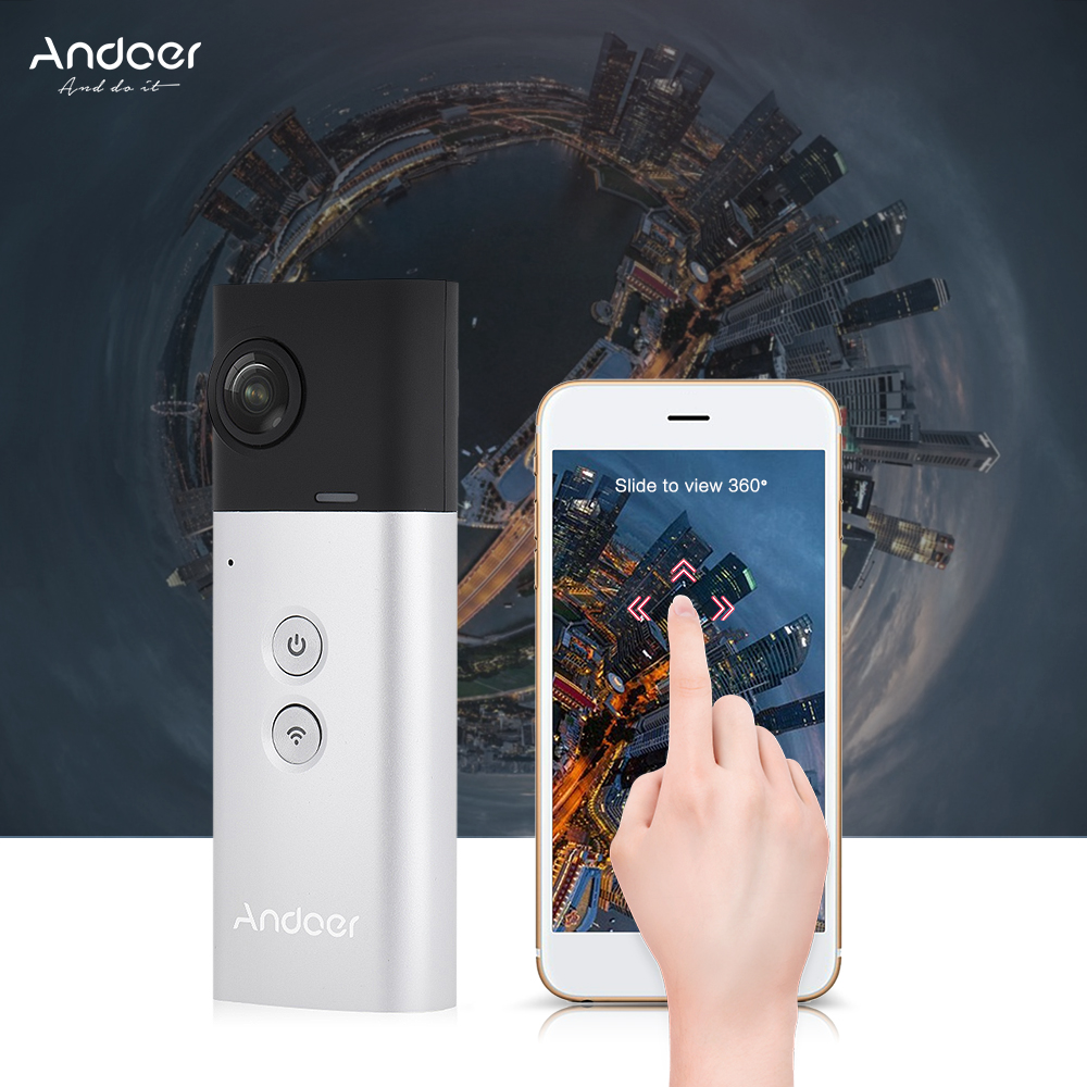 Kết quả hình ảnh cho Andoer A360I panoramic camera Hands-on Review : TIME TO CREATE YOUR 360-degree VIDEOS
