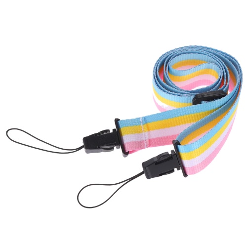 Buy Adjustable Colorful Rainbow Comfortable Camera Neck Strap Fujifilm Instax Mini 8 70 Instant Film