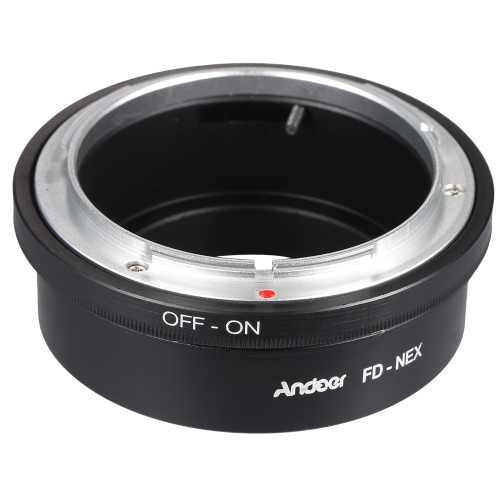 Buy Andoer FD-NEX Adapter Ring Lens Mount Canon FD Fit Sony NEX E Digital Camera Body