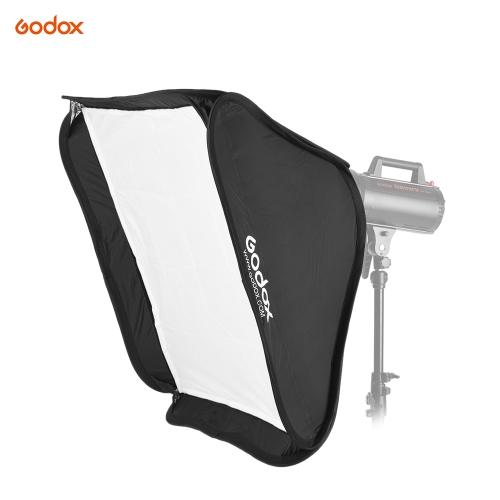 Buy Godox Portable 60 * 60cm Rectangular Softbox Diffuser Bowens Mount Andoer Neewer Studio Flash Strobe