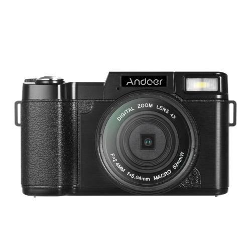 Buy Andoer R1 1080P 15fps Full HD 24MP Digital Camera Cam Camcorder 3.0