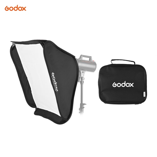 Buy Godox Portable 80 * 80cm Rectangular Softbox Diffuser Bowens Mount Studio Flash Strobe