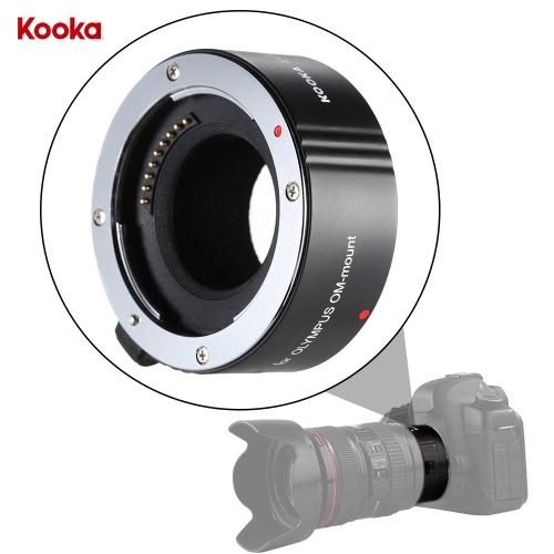 Buy KOOKA KK-C25A 25mm AF Auto Focus Macro Close-up Extension Tube Ring Canon EOS 70D 7D2 5D3 5DS 5DSR 6D 60D 550D 600D 650D 700D 750D 760D/ Rebel T2i T3i T4i T5i T6i T6s DSLR Camera EF/EF-S Mount Lens---Support TTL Function