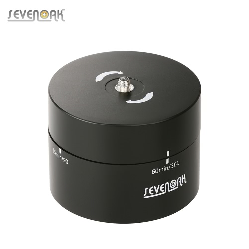 Buy Sevenoak SK-EBH60 60 Minutes 360° Panning Rotating Mechanical Panoramic Head Time Lapse Stabilizer 1/4