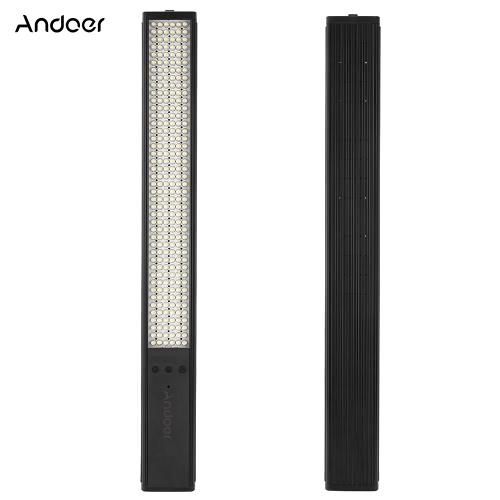 Buy Andoer TD-JY258 258 LED Portable Handheld Aluminum Alloy Magic Tube Light 9 Adjustable Brightness Levels Built-in 3600mAh Battery 3 Color Filters Photography & Videography