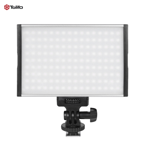 Buy Tolifo PT-15B Pro High Power Ultra-thin Dimmable Bi-color Temperature 3200K - 5600K 14LED Light Fill-in On-camera Panel Lamp Max 1500LM Canon Nikon Sony DSLR Camera Camcorder Video Studio Photography