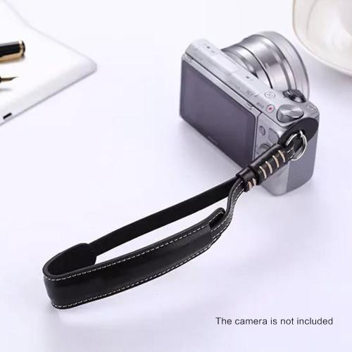 Buy X5-M Camera Wrist Hand Strap PU Leather Lanyard Sony Fujifilm Nikon Panasonic Olympus Leica DSLR / Micro Single Cameras