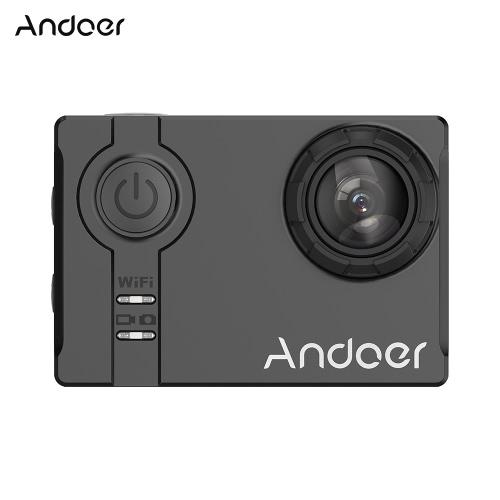 Buy Andoer 4K 1080P 120fps 720P 240fps Full HD Adopt Ambarella A12S75 16MP WiFi Anti-shake Waterproof Diving 60m 2.0