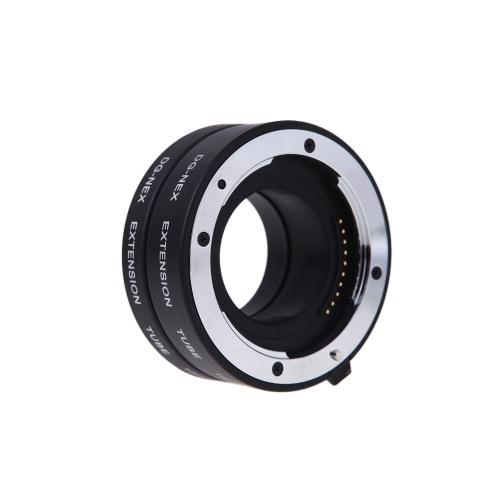 Buy Macro AF Auto Focus Extension DG Tube 10mm 16mm Set Ring Metal Mount Sony E-mout NEX NEX-6 A7R A3000