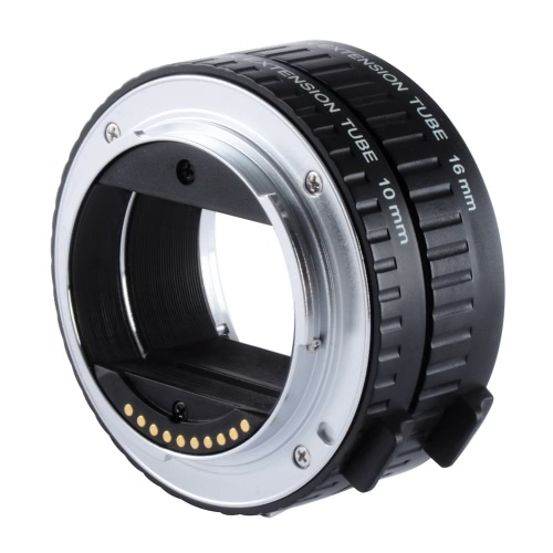 Buy Viltrox DG-NEX Auto Focus AF Extension Tube Ring 10mm 16mm Set Metal Mount Sony E-mount Lens