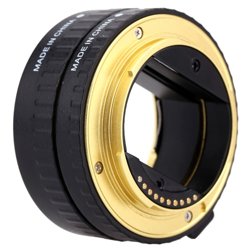 Buy Macro AF Auto Focus Extension DG Tube 10mm 16mm Set Ring Metal Mount Support Full Frame Sony E-mout NEX NEX-6 A7R A3000