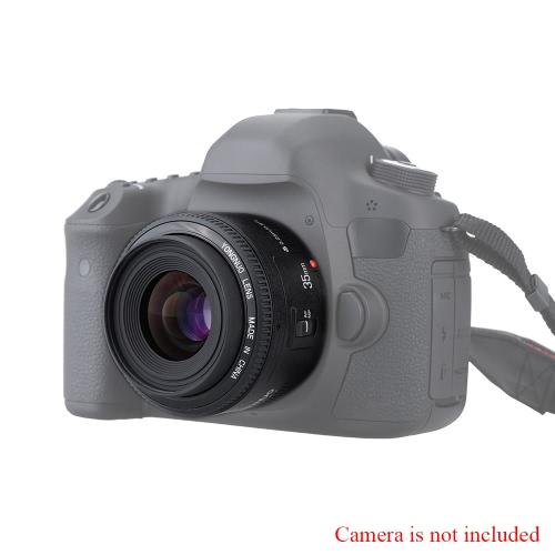 Buy Yongnuo YN35mm F2 Lens 1:2 AF / MF Wide-Angle Fixed/Prime Auto Focus Canon EF Mount EOS Camera