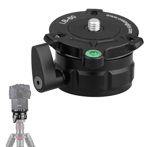 Buy 69mm Speedy Adjustable Leveling Base Panning Level Offset Bubble Tripods 1/4