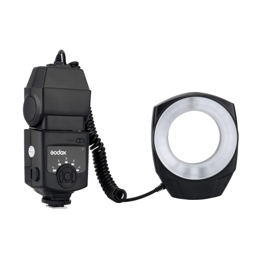 Buy Godox ML-150 Macro Ring Flash Light Guide Number 10 6 Lens Adapter Rings Canon Nikon Pentax Olympus DSLR cameras
