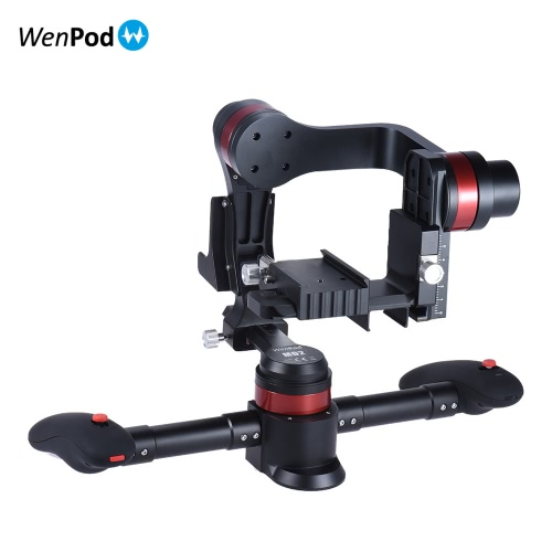 Buy WenPod MD2 Handheld Intelligent Brushless 3 Axis Gimbal Camera Video Stabilizer Gyro Canon Nikon Sony DSLR ILDC Mirrorless Cam Camcorder