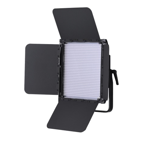 Buy Tolifo GK-1024B PRO 30W 102CRI95+ LED Video Light Lamp Bi-color 3200 ~ 5600K Dimmable 2.4G Remote Control/Barn Door/Filter DMX512 Connector Studio Photography