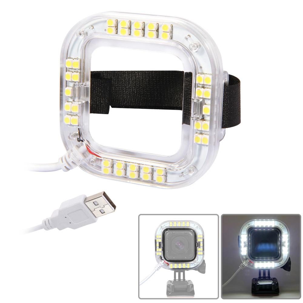 andoer usb led licht ring f r gopro hero4 session action kamera nur angebote. Black Bedroom Furniture Sets. Home Design Ideas