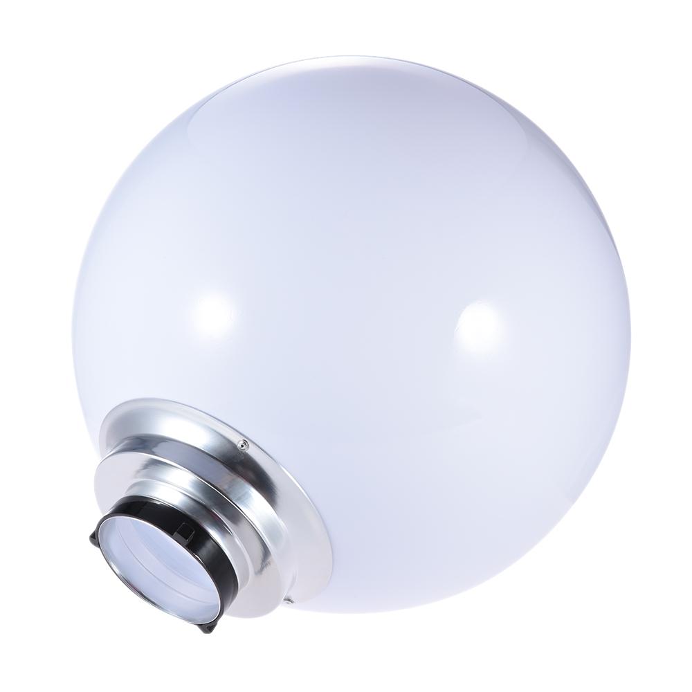 Studio Lighting Diffuser: 40cm / 16in Spherical Diffuser Softball Photography