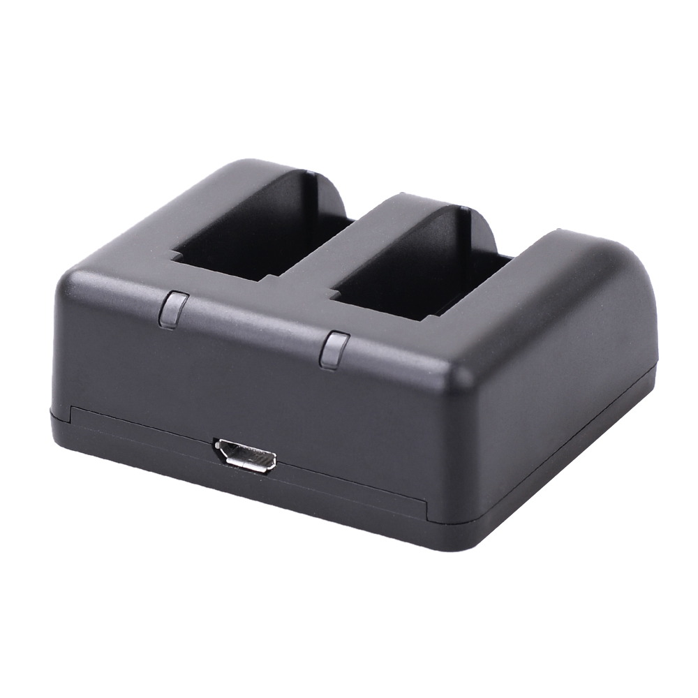 Dual Battery Charger Action Camera Battery Charger With
