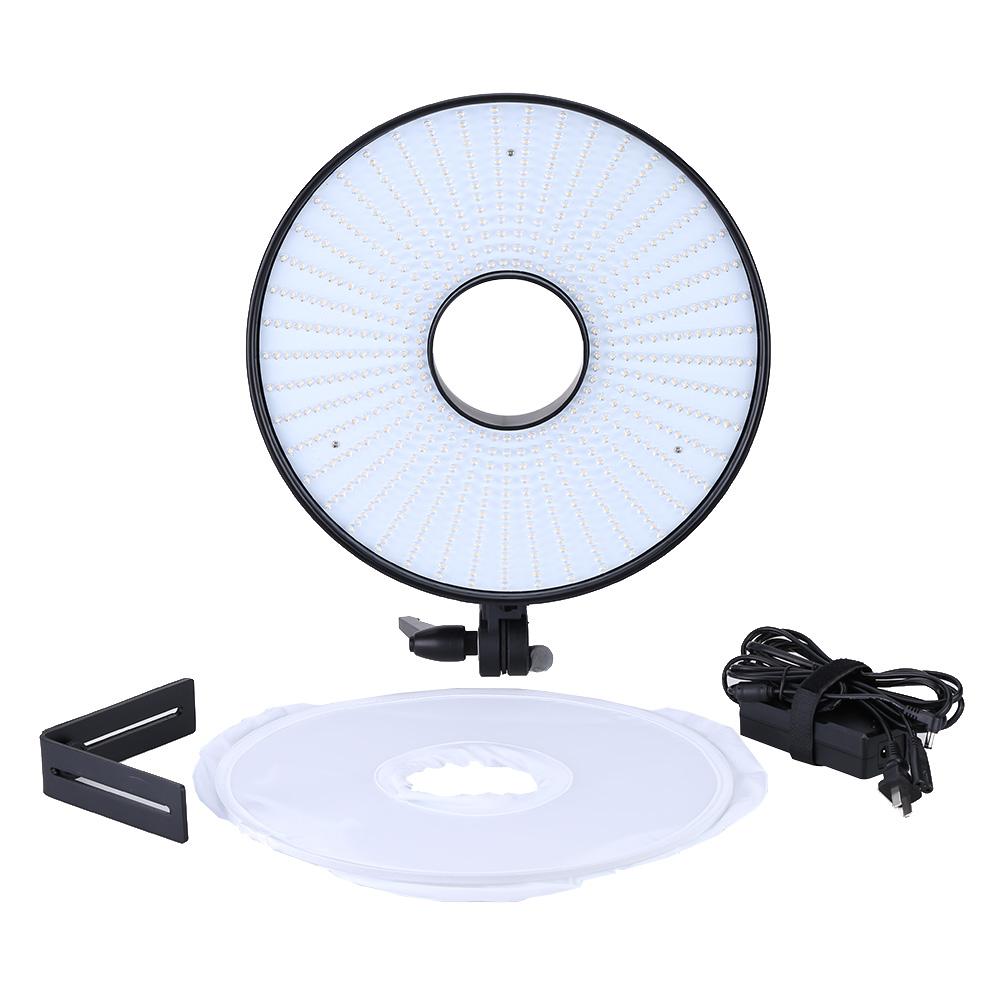 630pcs Ring LED Panel Video Lamp CRI 95 Dual Color