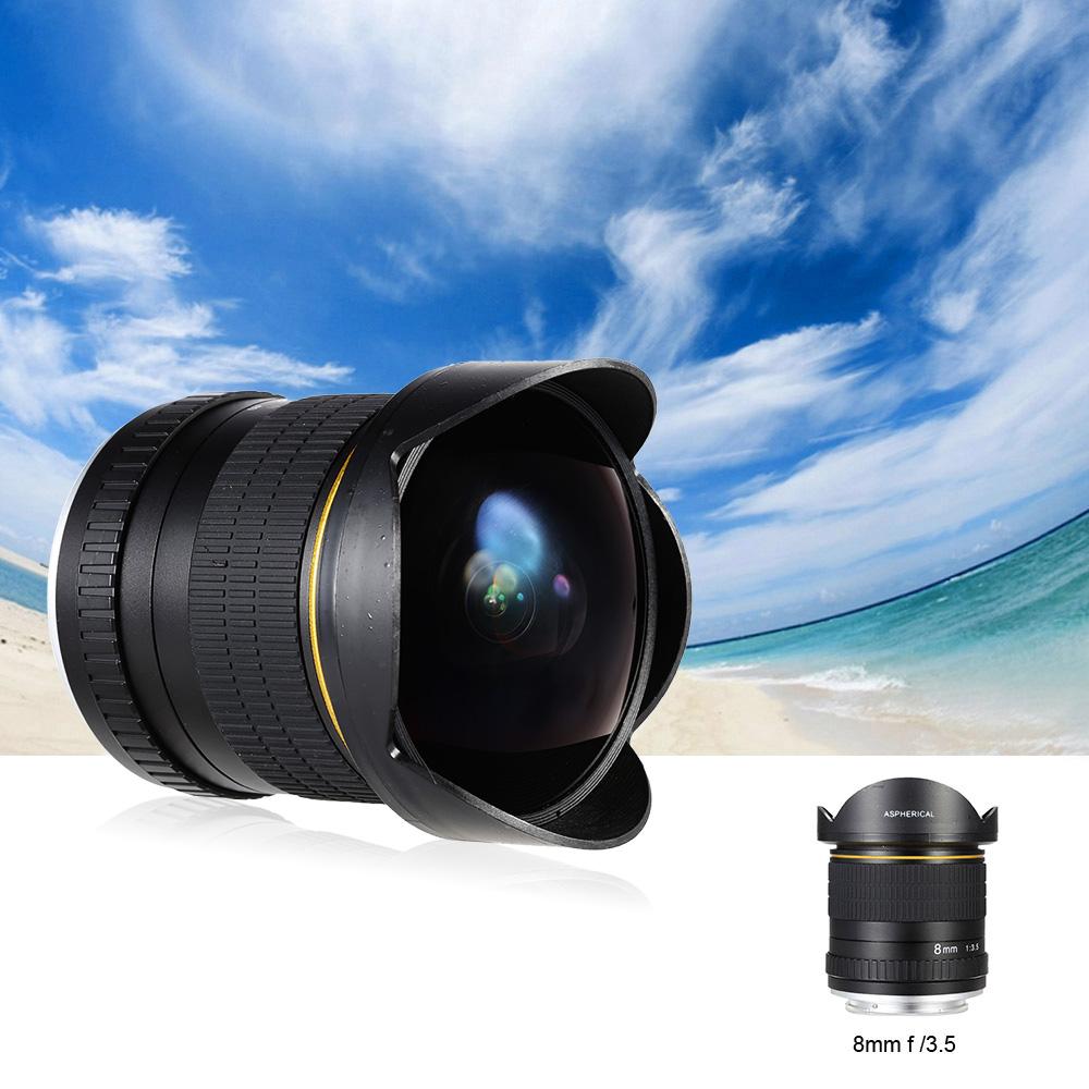 Kelda 8mm f 3 5 camera professional aspherical circular for Fish eye camera