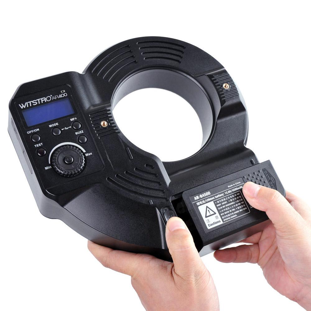 Lithium Ion Ring Flash Canon