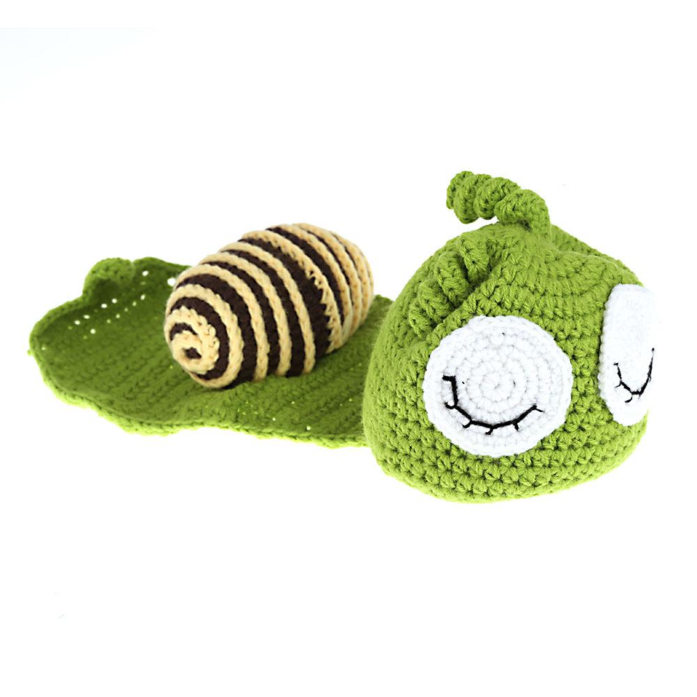 baby kind gr ne schnecke crochet knitting kost m weiche entz ckende kleider foto fotografie. Black Bedroom Furniture Sets. Home Design Ideas