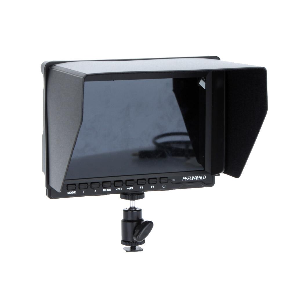 feelworld fw759 videokamera 7 39 39 hd ips lcd monitor 1280 800 hdmi f r canon nikon sony dslr. Black Bedroom Furniture Sets. Home Design Ideas