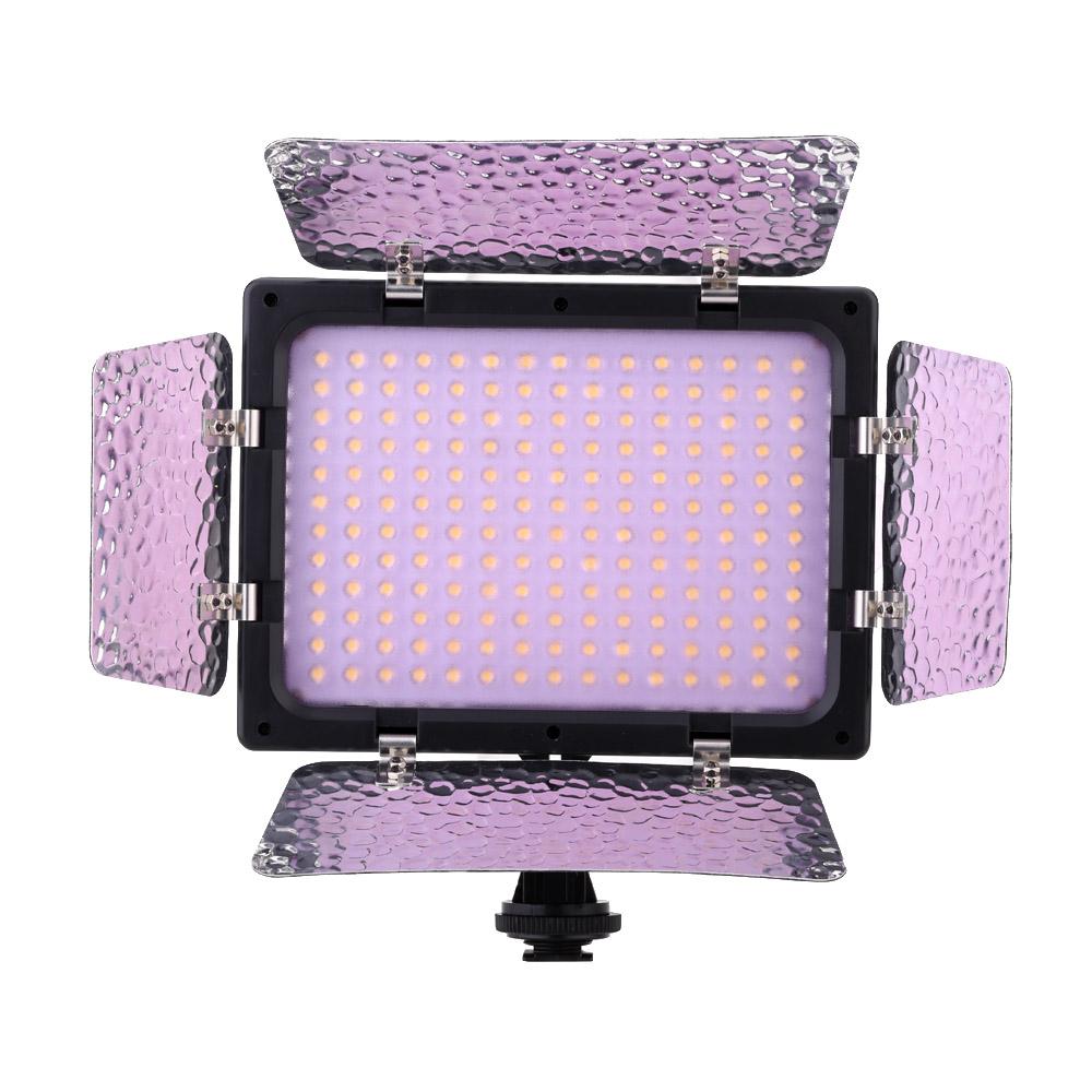 Andoer W180 LED Luce di Video Pannello di Lampo per DSLR Fotocamera Videocamera di Canon Nikon ...