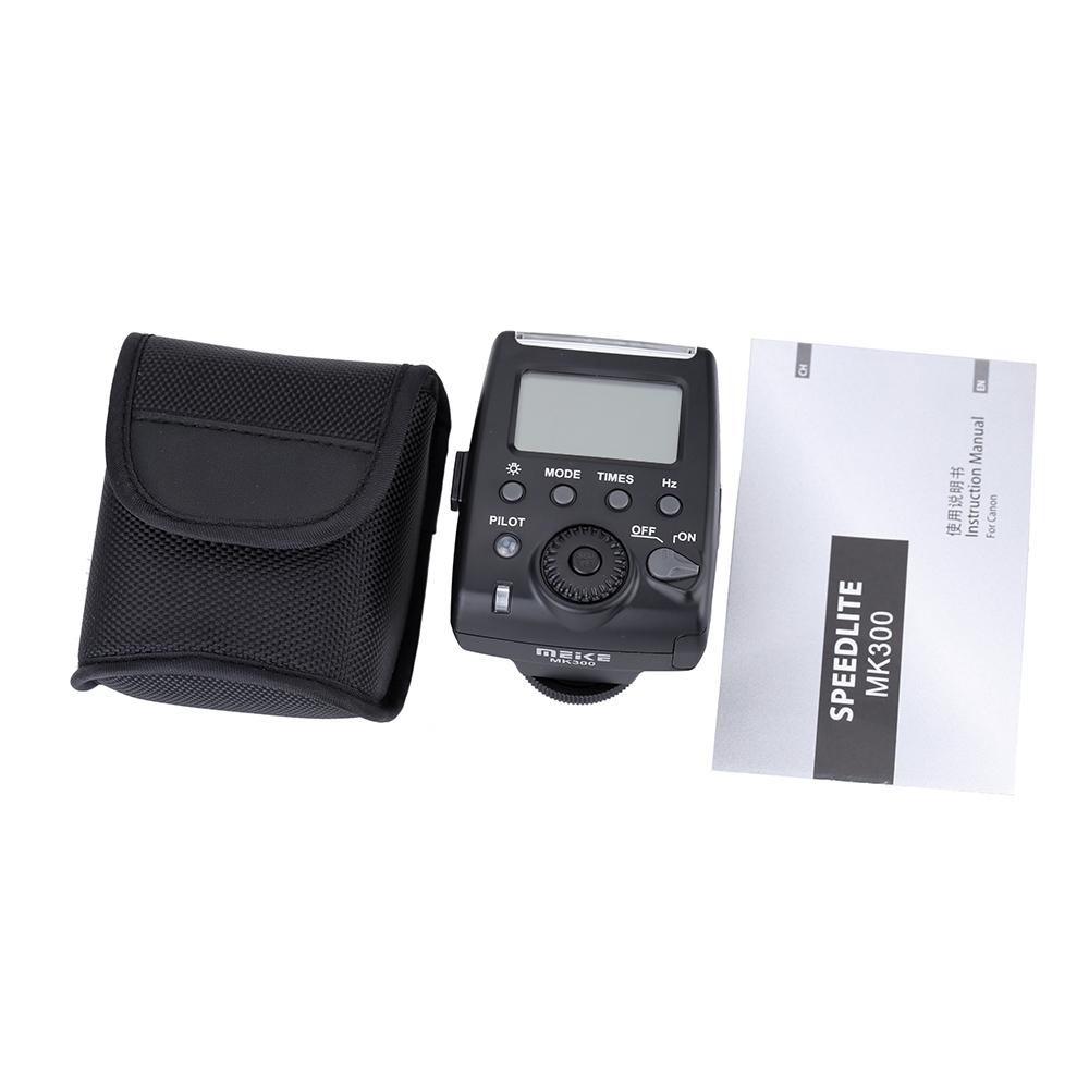 MeiKe MK 300 Mini LCD Bildschirm E TTL TTL Auf Der Kamera