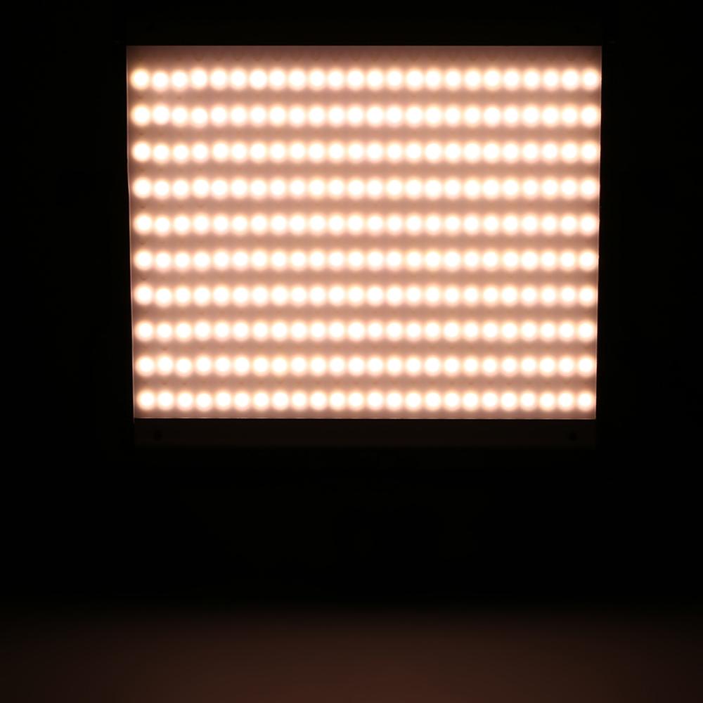 clairage de panneau lumineux led 480pcs variation de luminosit r glable temp rature de couleur. Black Bedroom Furniture Sets. Home Design Ideas