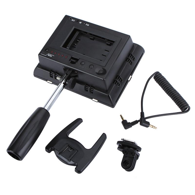 yongnuo yn 160 ii led videoleuchte lampe mit kondensator mikrofon f r canon nikon pentax kamera. Black Bedroom Furniture Sets. Home Design Ideas