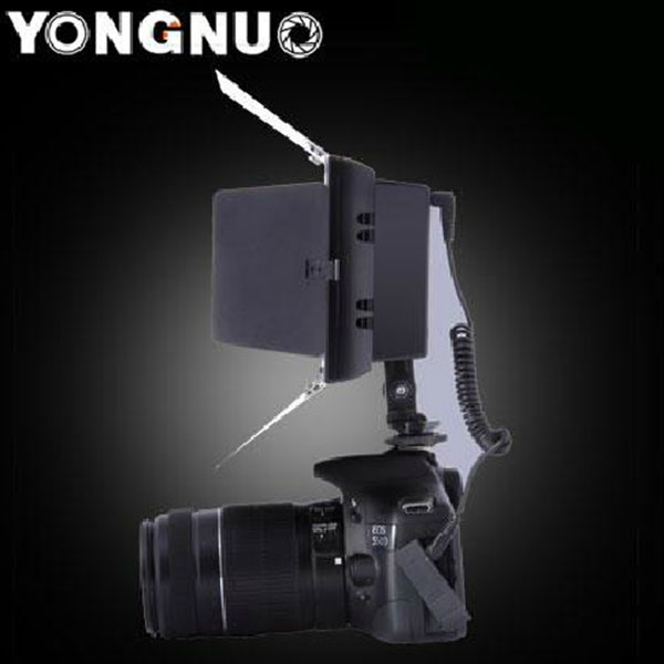 yongnuo yn 160 ii led videoleuchte lampe mit kondensator. Black Bedroom Furniture Sets. Home Design Ideas
